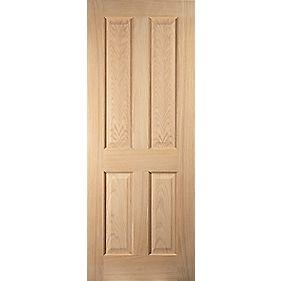 Jeld wen oregon 4 panel interior door unfinished 2040 x for Door 2040 x 726