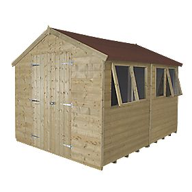 Forest 8 X 10 Nominal Apex Tongue Amp Groove Timber Shed