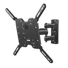 sanus full motion tv wall mount full motion 32 47 tv brackets. Black Bedroom Furniture Sets. Home Design Ideas