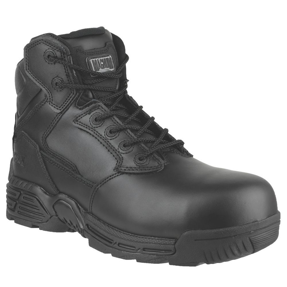 NEW Magnum Slth Force 6 Safety Boots Black Size 10