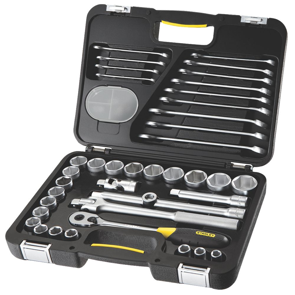 "NEW Stanley FatMax "" Socket & Wrench Set 40Pcs"