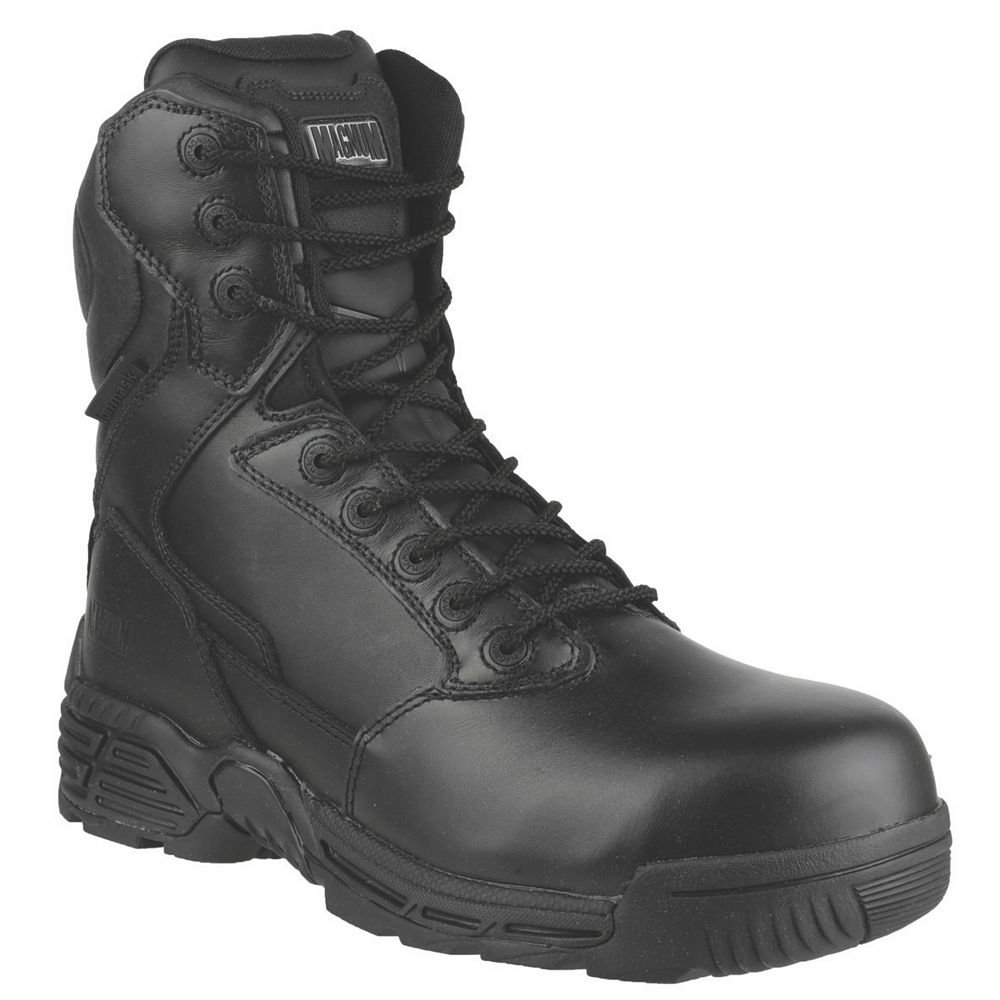 NEW Magnum Stealth Force 8 Safety Boots Black Size 12