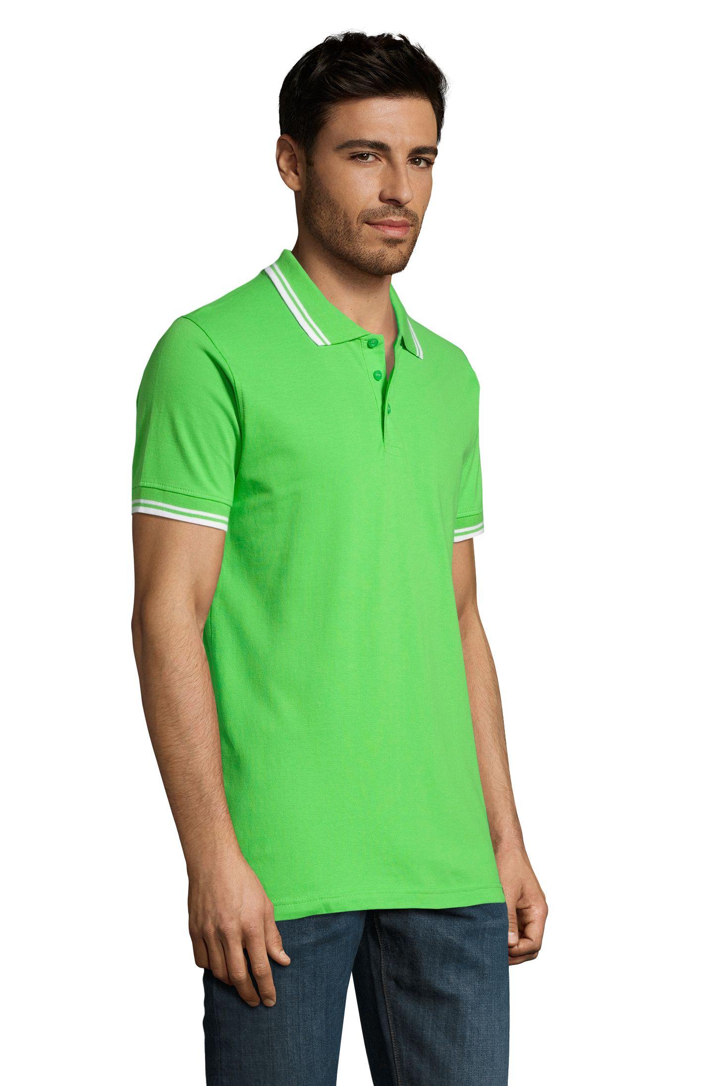 794 - Lime / White