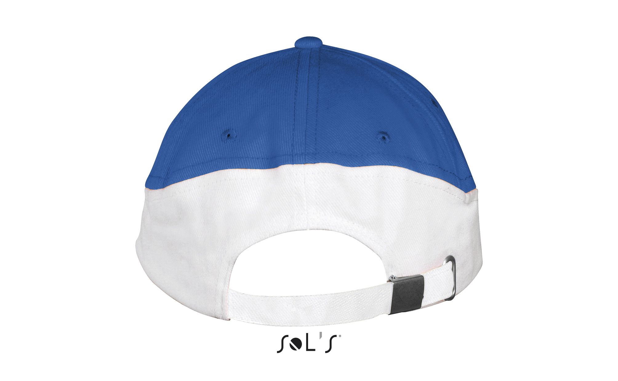 913 - Royal blue / White