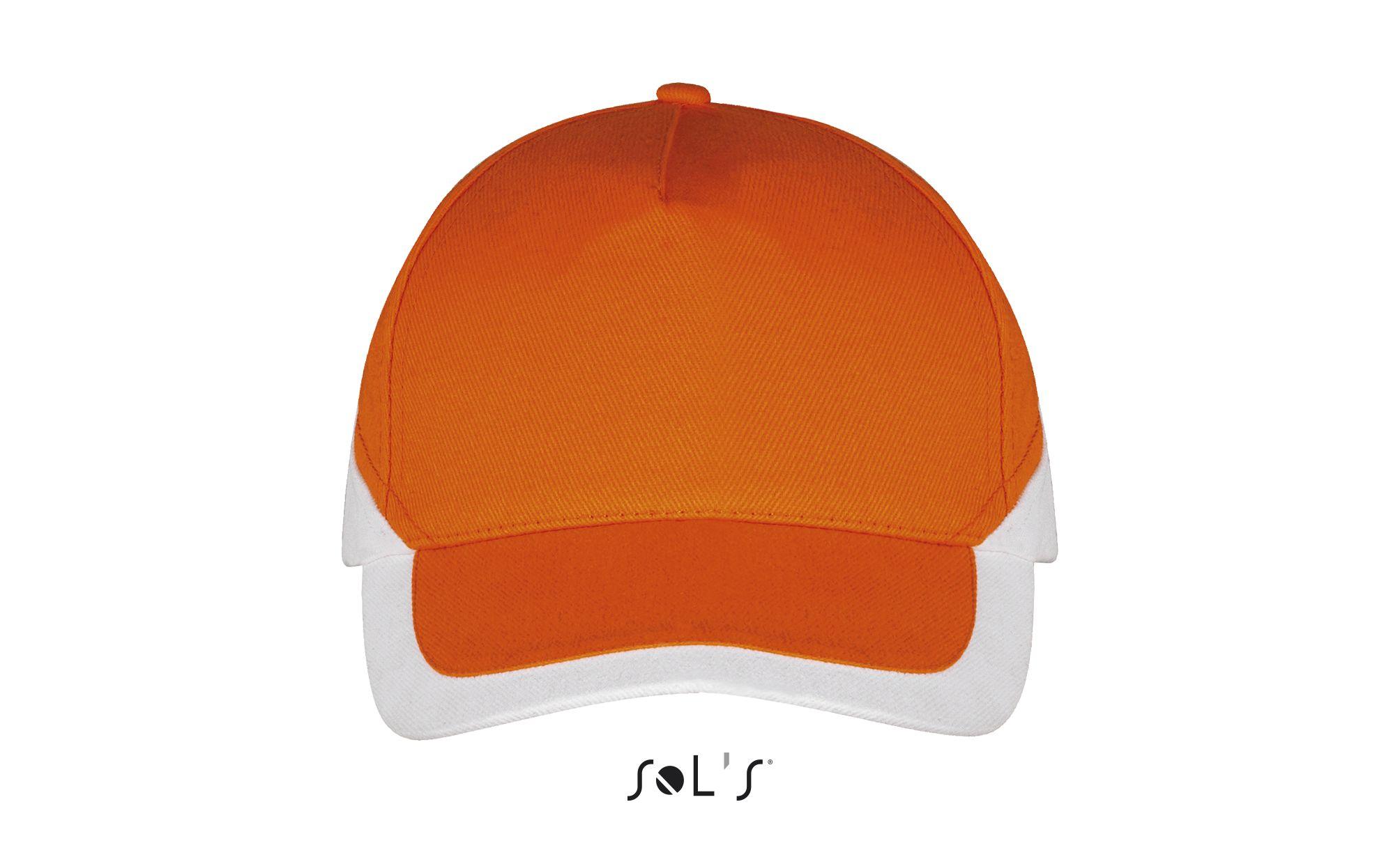 982 - Orange / White