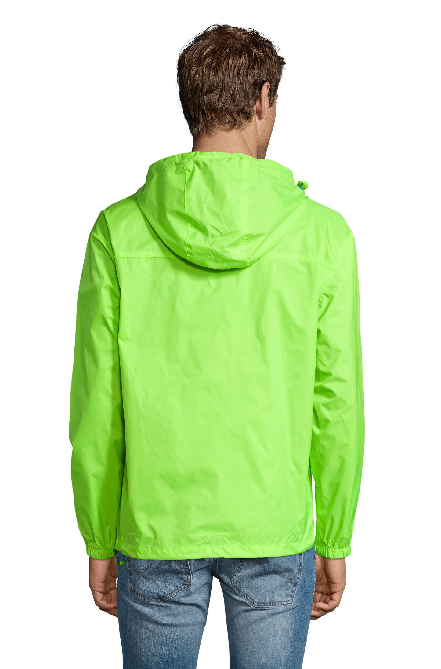 887 - Lime fluo / Royal