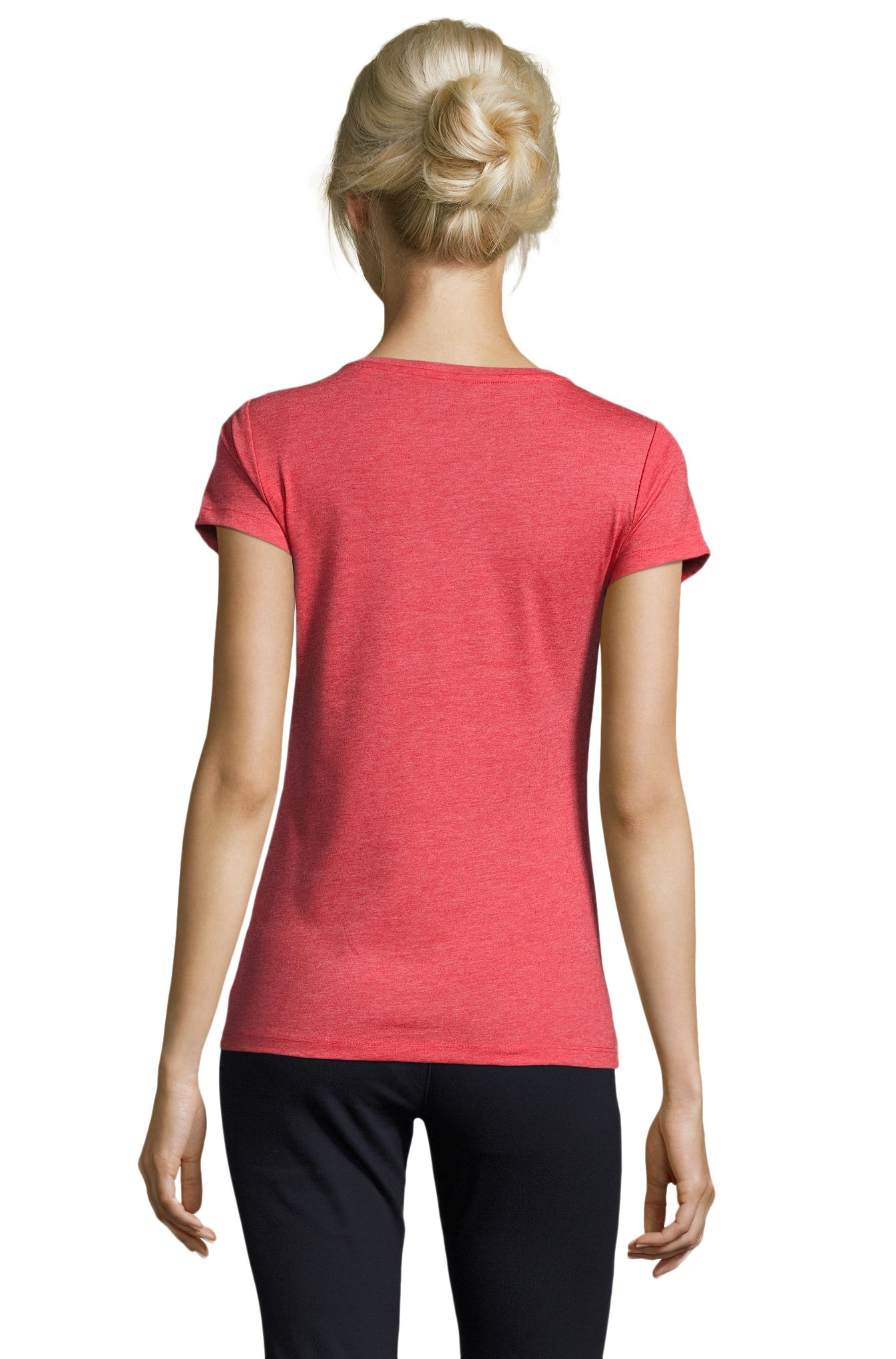 163 - Heather red