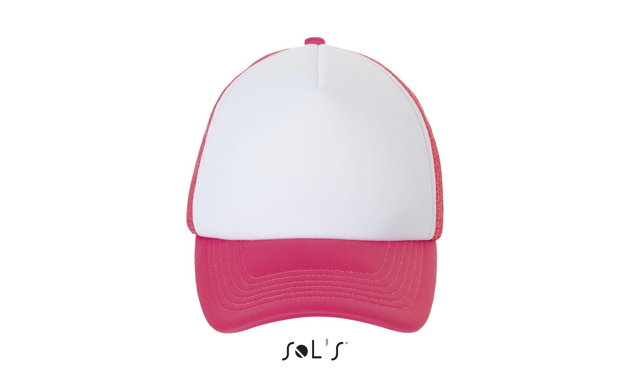 515 - Blanc / Corail fluo