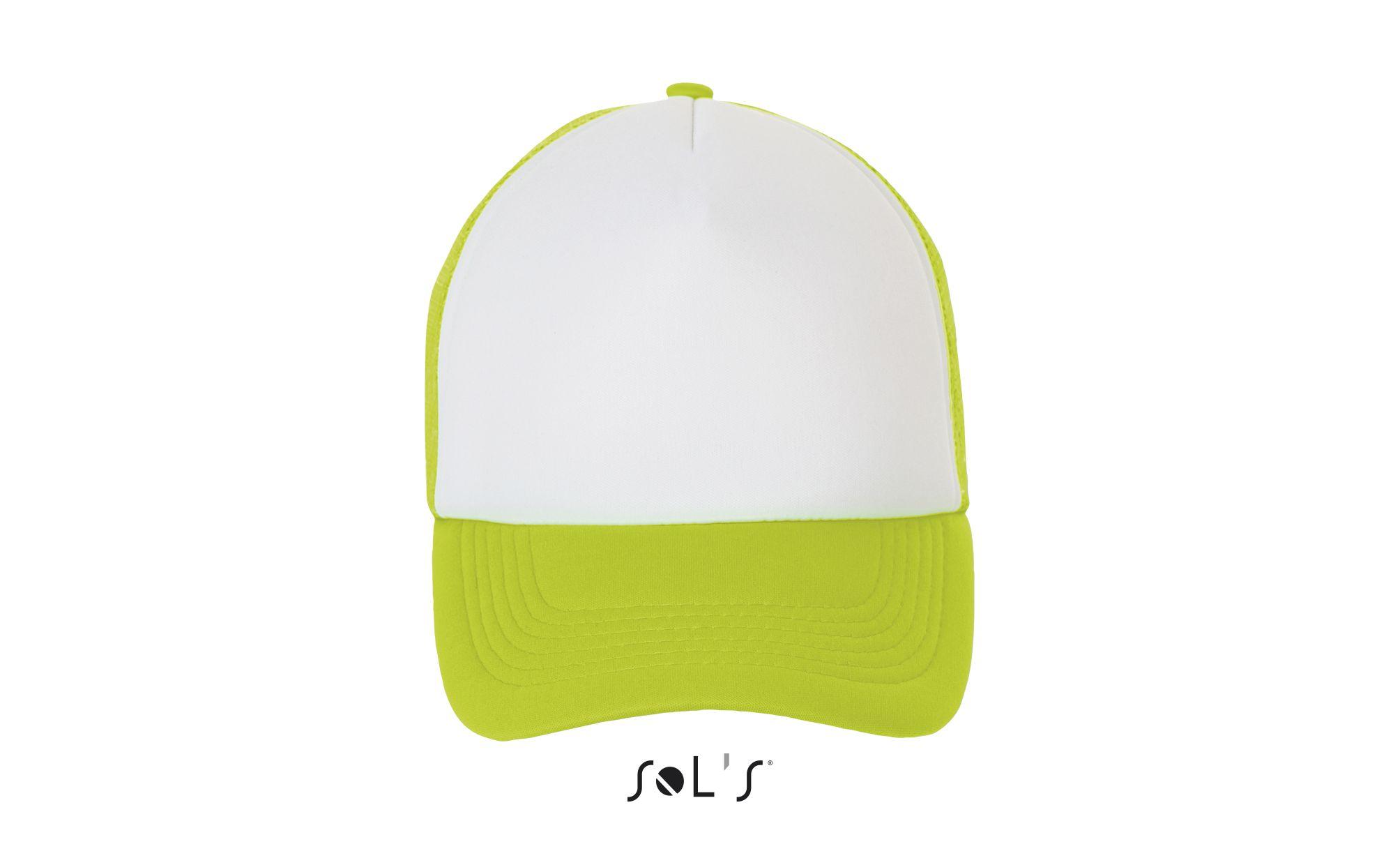 516 - Blanc / Vert fluo