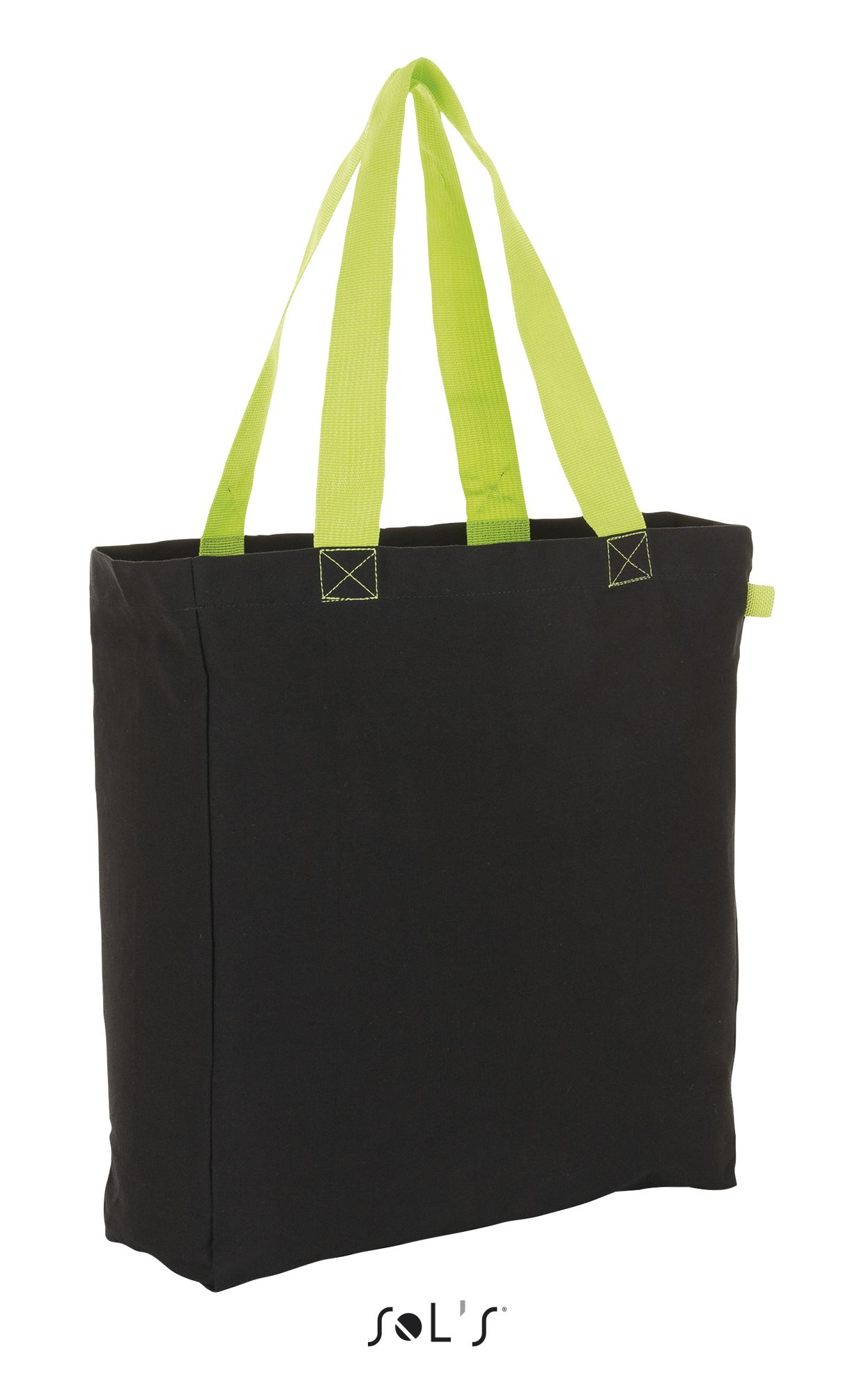 886 - Black / Neon lime
