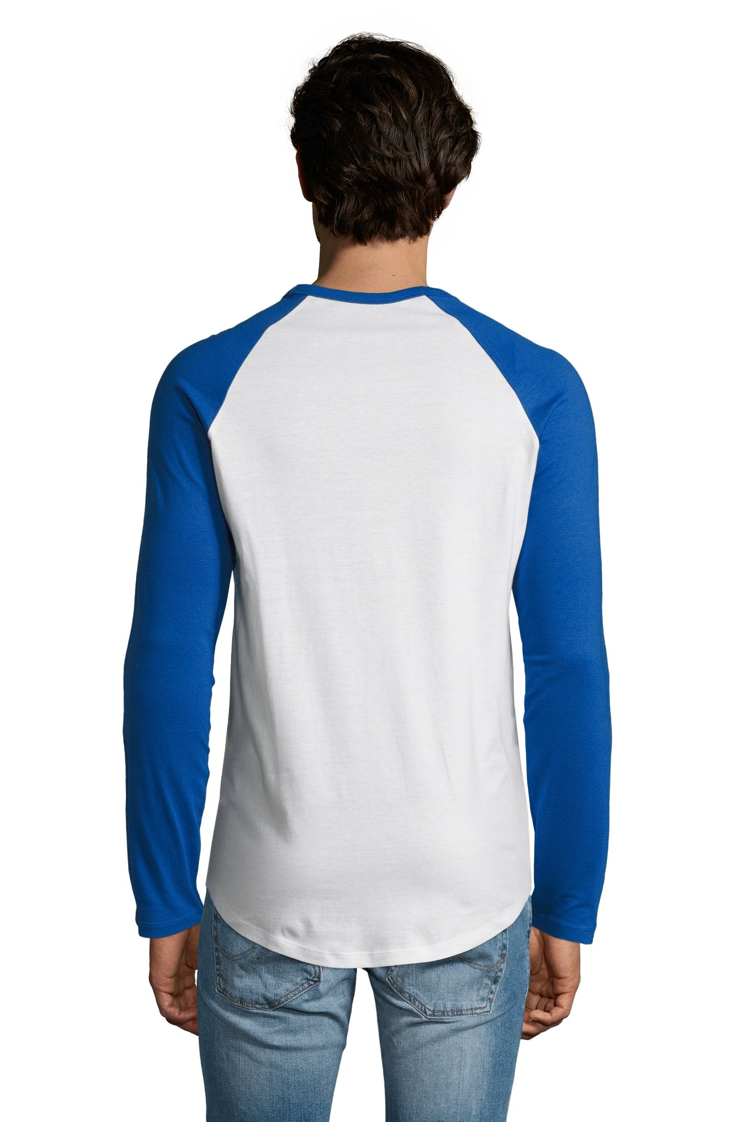 907 - White / Royal blue