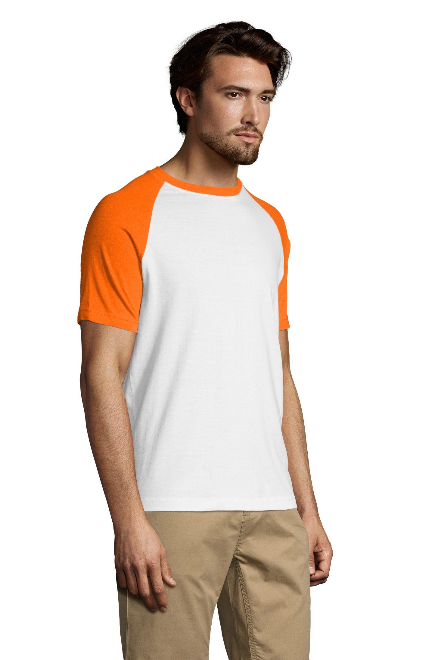 981 - Blanc / Orange
