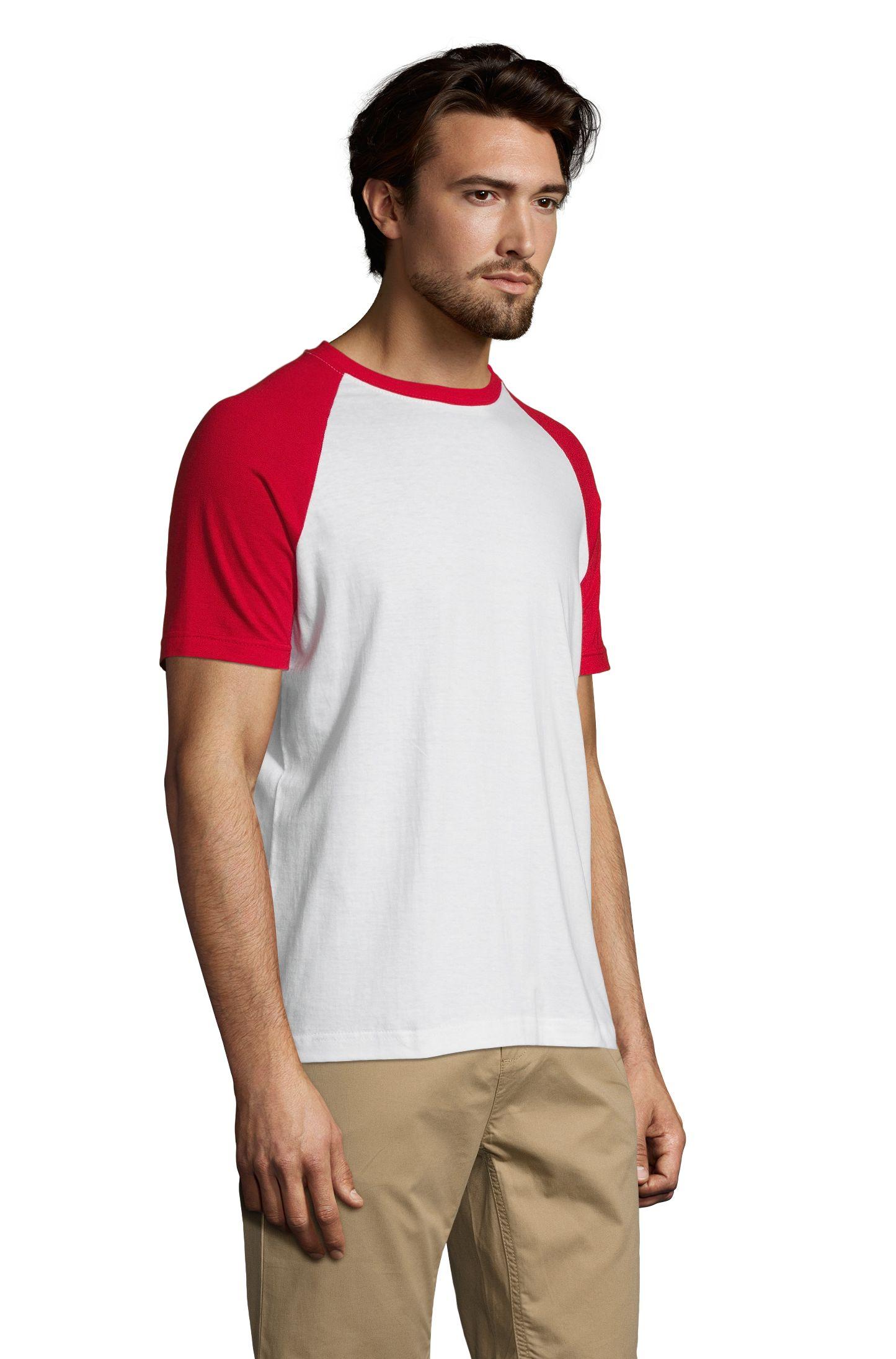 987 - Blanc / Rouge