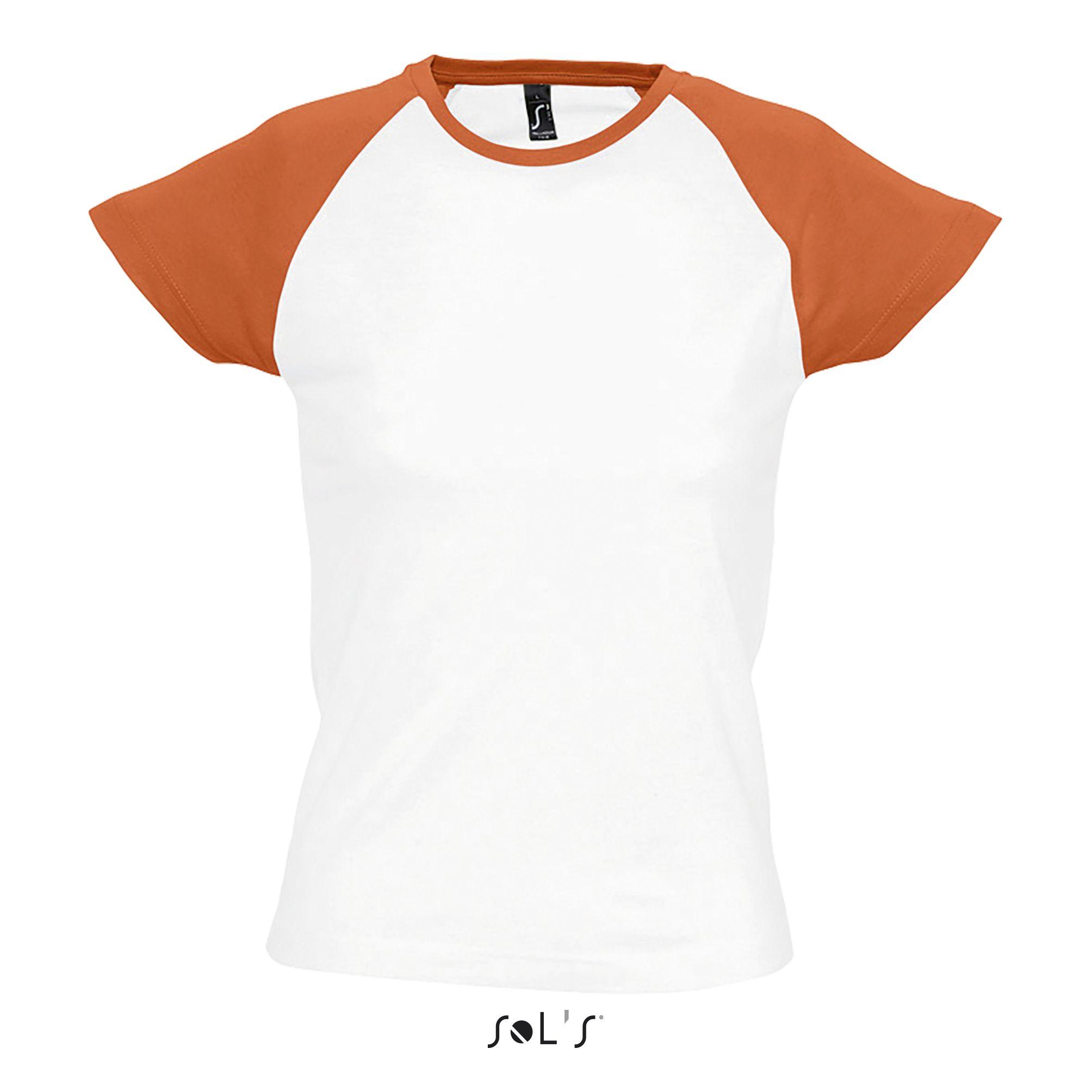 981 - White / Orange