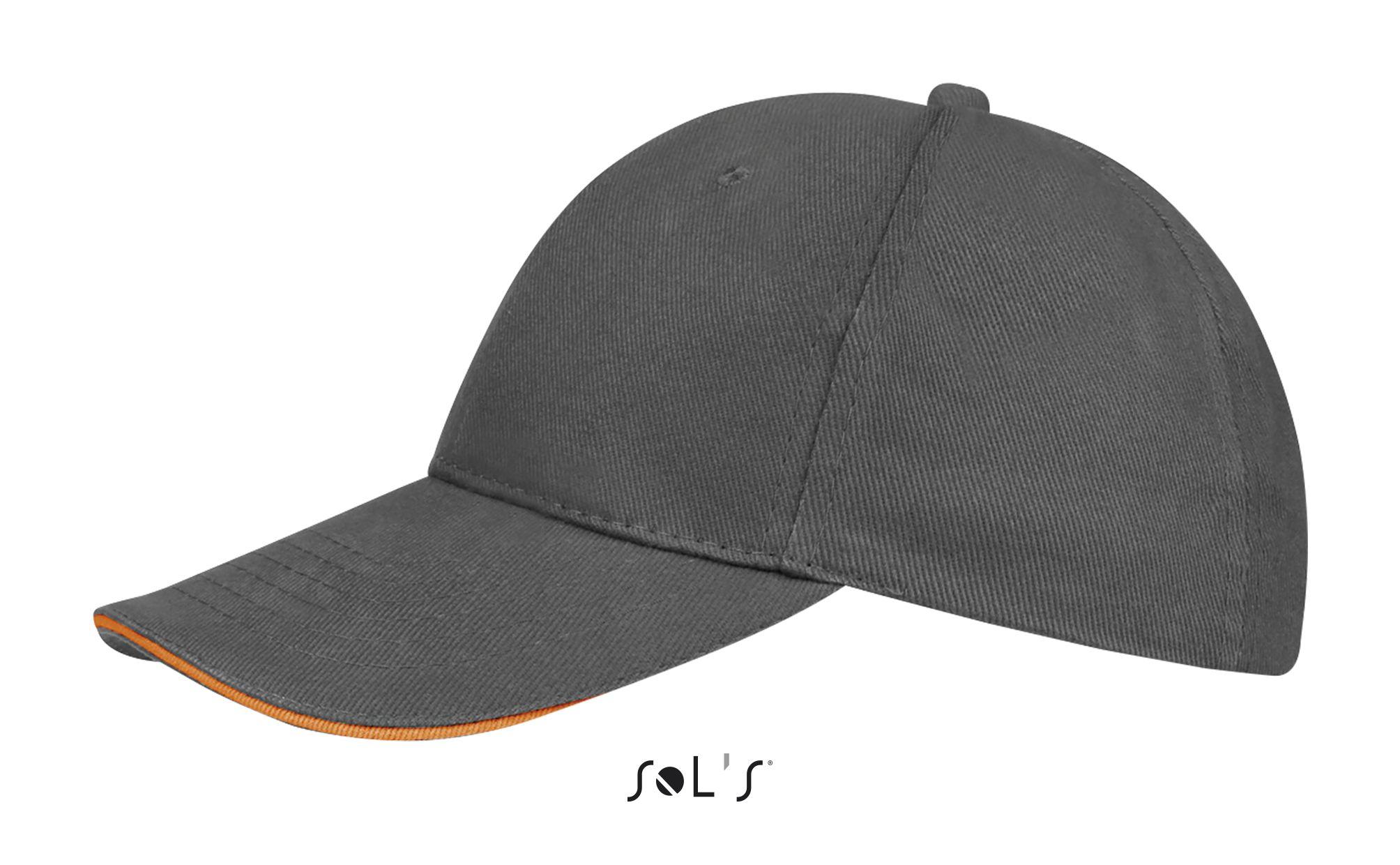 799 - Dark grey / Orange