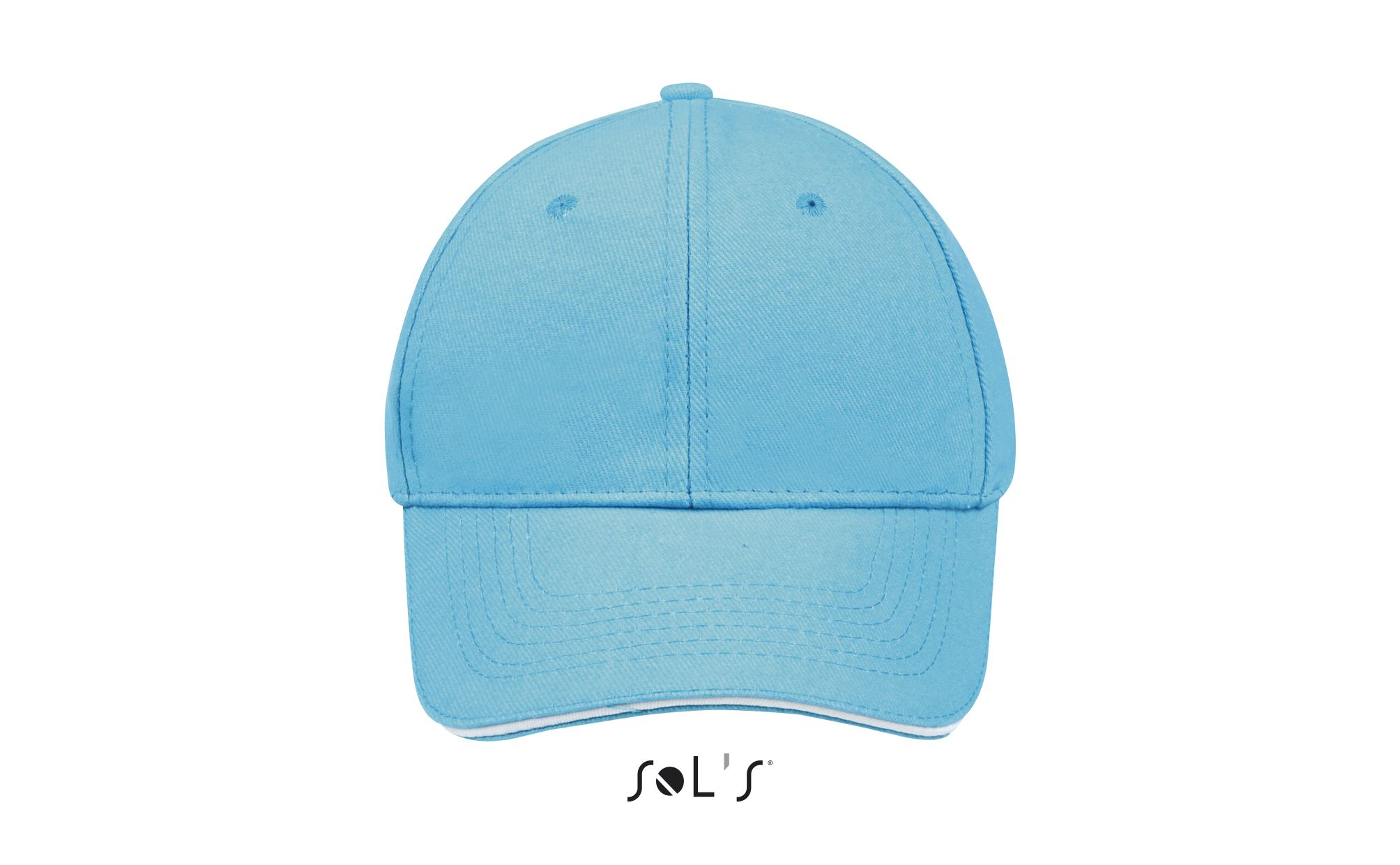 919 - Turquoise / White