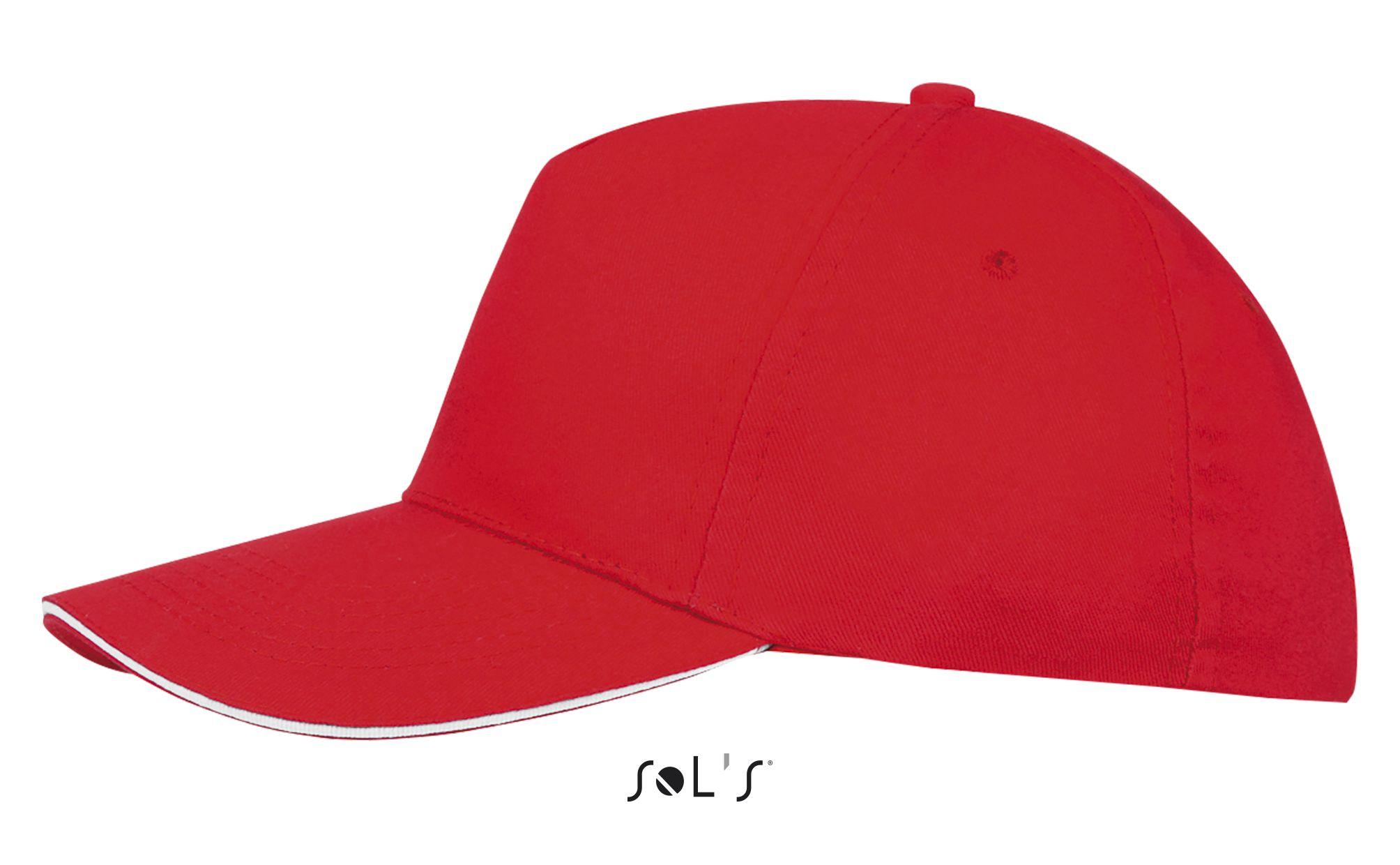 908 - Rouge / Blanc