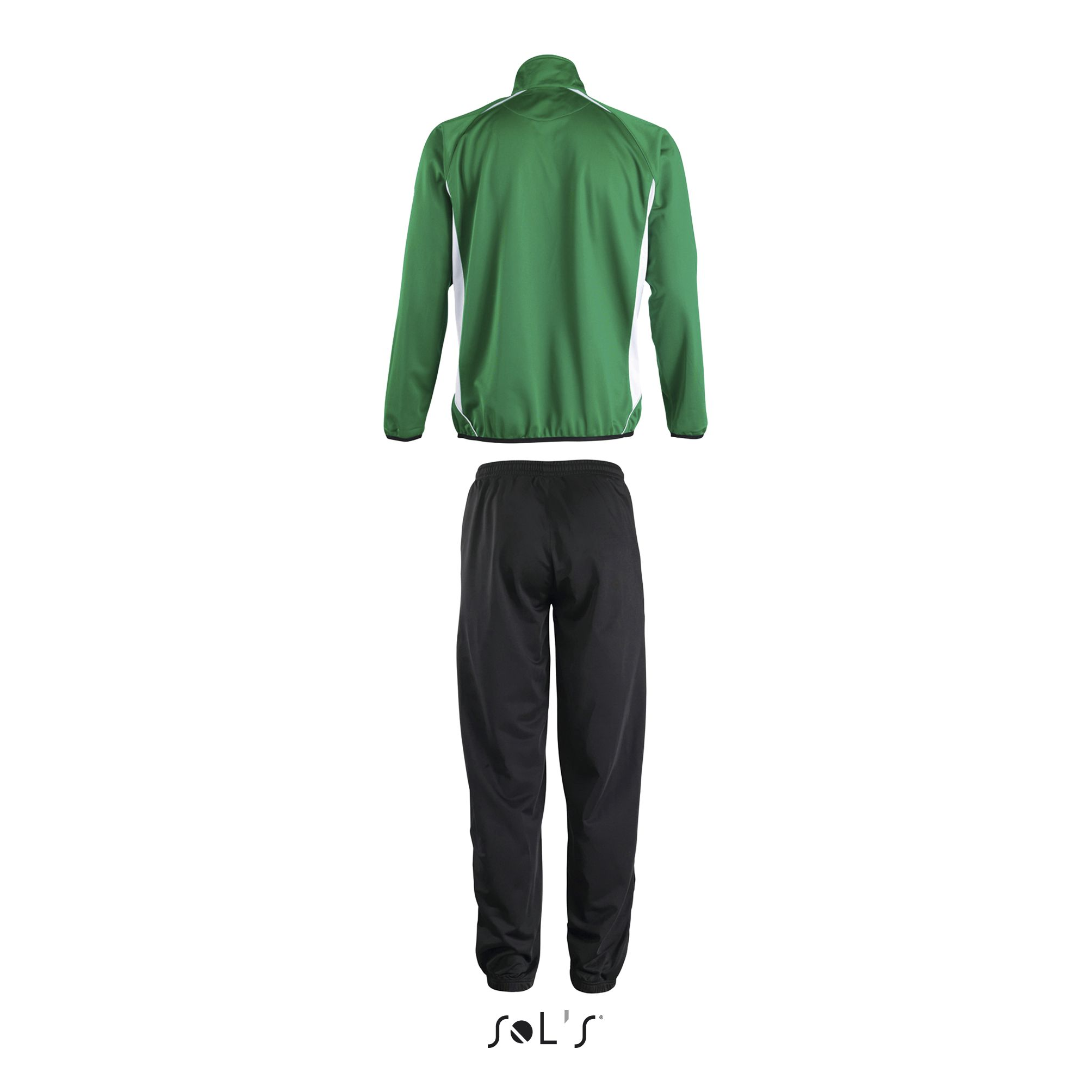 929 - Vert Vif-Blanc / Noir