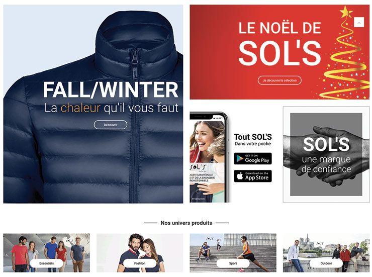 site SOL'S Europe